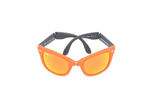 601969 Ban Wayfarer 601969 601969 RB4105 Grey Orange Orange 50 Folding Sunglasses Ray v6wd1xASqq