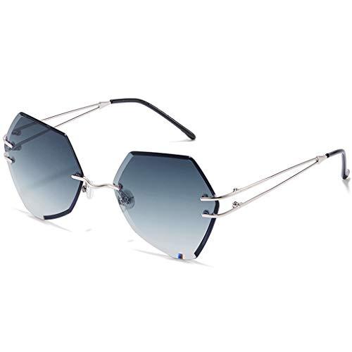 B Sport sans Couleur de soleil Soleil Femme B rétro Cadre Des lunettes Rond Harajuku Nouvelles Style Lunettes de fqAcITwTxv