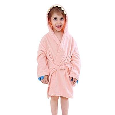 LNGRY Baby Clothes,Toddler Infant Boys Girls Cartoon Dinosaur Bandage Hooded Bathrobe Towel Pajamas Clothes