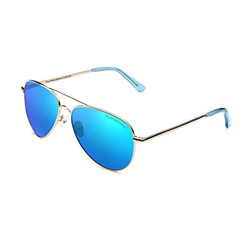 amp; Aviator Aviator Elsa Azul Colección Gafas Pataky CLANDESTINE Mujer Hombre Sol Polarizadas Espejo de Exclusiva YZBBna