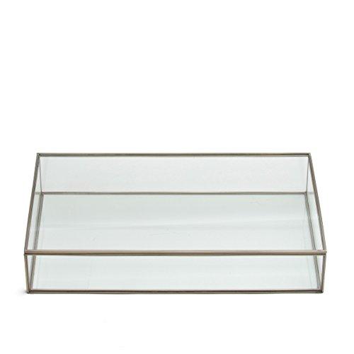 La Redoute Misia Glass Box Yellow Size One Size by La Redoute