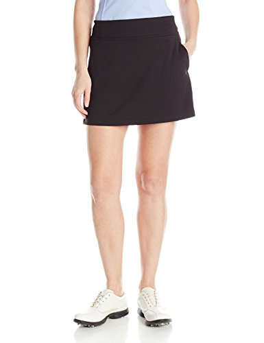 PGA TOUR Women's 16' Airflux Solid Knit Skort with Tummy Control