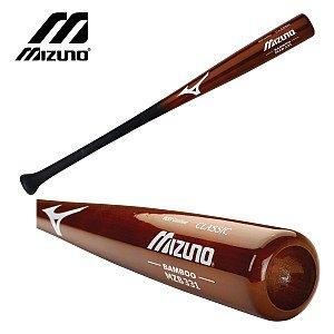 Mizuno Classic Bamboo Bat, Chestnut, 34-Inch (Besr Certified Baseball Bats)