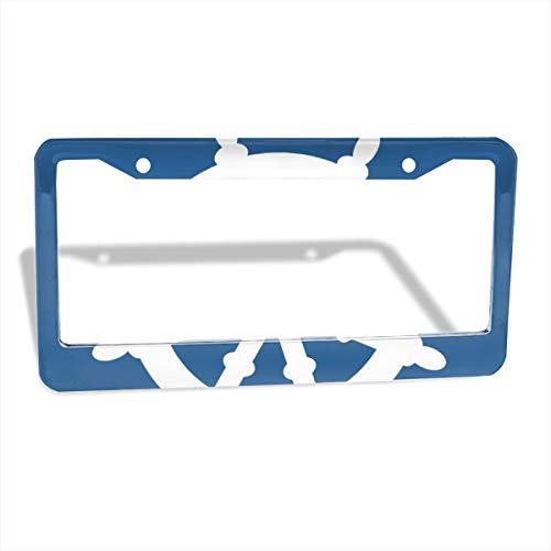 - Jksytx Waterproof Flat & Round Hole Car License Plate Frame Ahoy ColourName