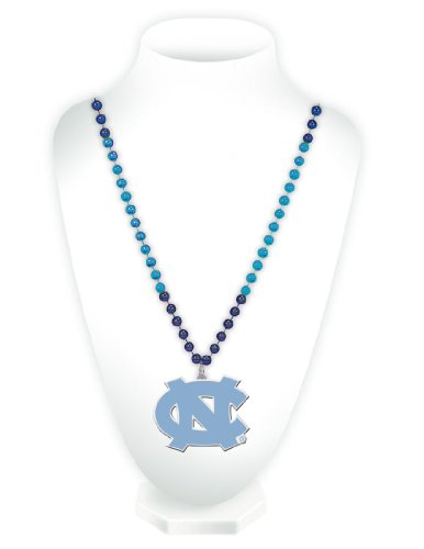 NCAA North Carolina Tar Heels Beads with Logo - Malls Carolina Outlet North