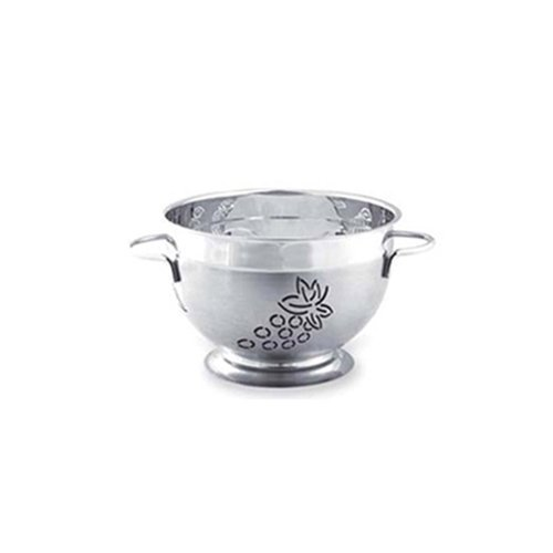 Supreme Housewares Stainless Steel Colander, Small, Grape (Supreme Stainless Colander Steel)
