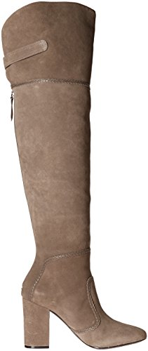 Nine Knee JENA Grey West The Over Suede Women's Boot aHzfqv