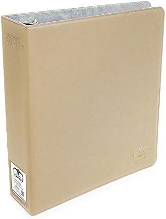 Black Ultimate Guard XenoSkin Supreme Collectors Album 9 Pocket Card 3 Ring Storage Binder