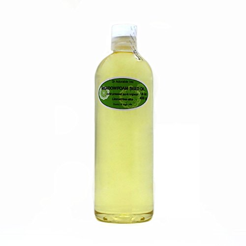 Meadowfoam Seed Oil - Meadowfoam Seed Oil Pure Organic by Dr.Adorable 16 Oz/1 Pint