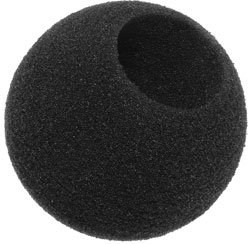 Sennheiser Windscreen (Sennheiser MZW-421 Foam Windscreen for MD421 Microphone, Gray)