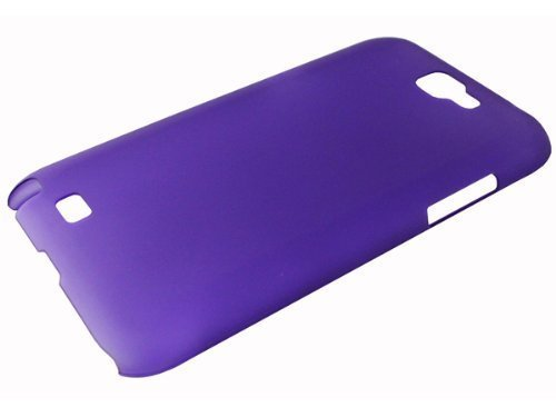avci Base 4260344980727Frost cristal Bumper Coque rigide pour Samsung Galaxy Note 2N7100Violet