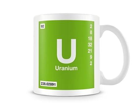 Amazon periodic table of elements 92 u uranium symbol mug periodic table of elements 92 u uranium symbol mug urtaz Image collections