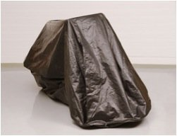 Zerust Rust Protection Motorcycle Storage Cover with Zip Closure and Soft Lining with Corrosion Prevention and Protection - 135 in x 70 in by Zerust (Image #4)