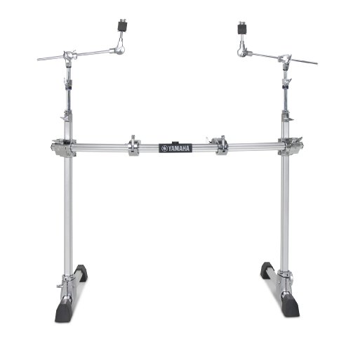 Yamaha HexRackII Series HXR2LCHII Drum Set Rack of 2-Leg Configuration with Hexagonal Curved Pipe