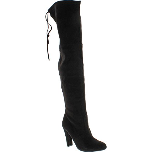 Steve Madden Women's Gorgeous Winter Boot, Black, 8.5 M US