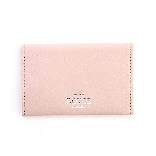 Royce Pink Genuine Leather Envelope Card Case 425-CP-5