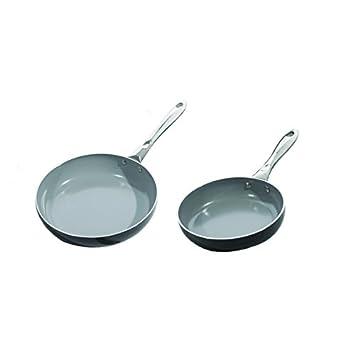Earthchef Boreales aluminio 20 cm y 25,4 cm antiadherente sartenes: Amazon.es: Hogar