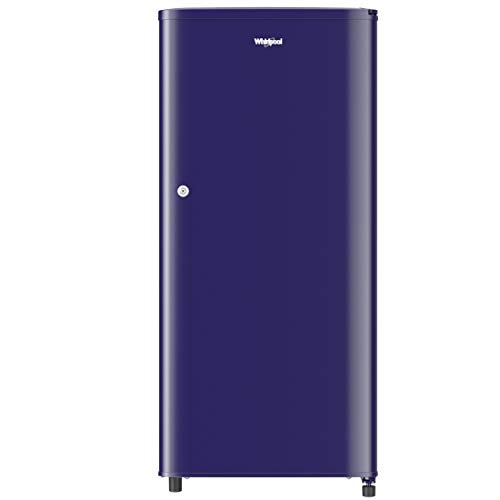 Whirlpool 190 L 2 Star Direct-Cool Single Door Refrigerator (WDE 205 CLS 2S, Blue)