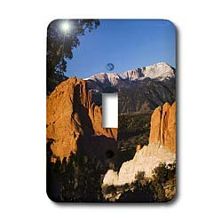 (3dRose LLC lsp_84232_1 Pikes Peak Rock Form Garden of The Gods Co Usa Na02 Rnu0065 Rolf Nussbaumer Single Toggle Switch)