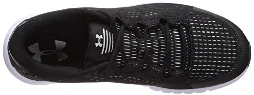 De Under Se Running black Mujer G white Para 002 Micro Armour 002 Pursuit Zapatillas white Negro qYr0YwI