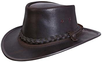 BC Hats Bac Pac Traveller Oily Australian Leather aa13e2ec4d0c