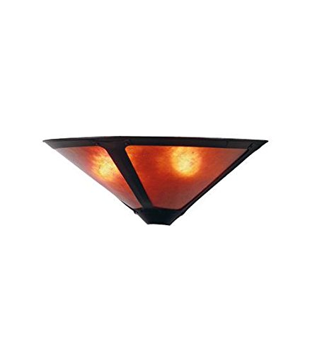 Mica Tiffany Sconce (Meyda Tiffany 67968 Van Erp Mica Wall Sconce, 17