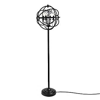 homeangel orb floor lamp glass reading lamp for living room bedroom home improvement. Black Bedroom Furniture Sets. Home Design Ideas