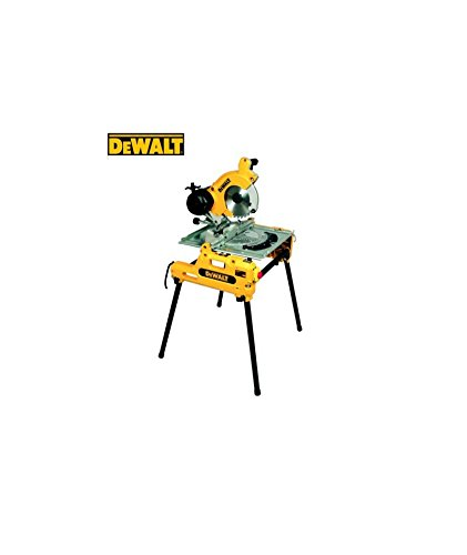 Dewalt - Sierra de mesa y de ingletes reversible 2000 w dw743 n ...