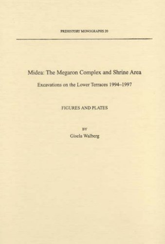 Price comparison product image Midea: The Megaron Complex and Shrine Area (Prehistory Monographs)