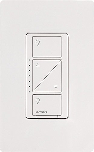 Lutron Caseta Wireless In-Wall Dimmer White PD-6WCL-WH-R