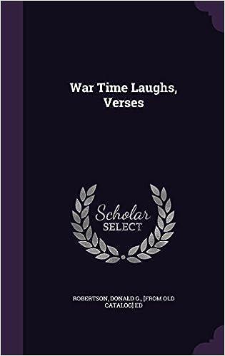 War Time Laughs, Verses