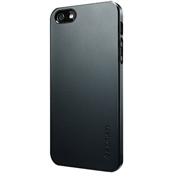 brand new 3f87b fd33f Spigen Ultra Thin Air iPhone 5S Case for iPhone 5/5S - Metal Slate