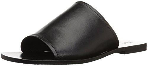 FRYE Women's Riley Slide Sneaker, Black, 7.5 M US by FRYE