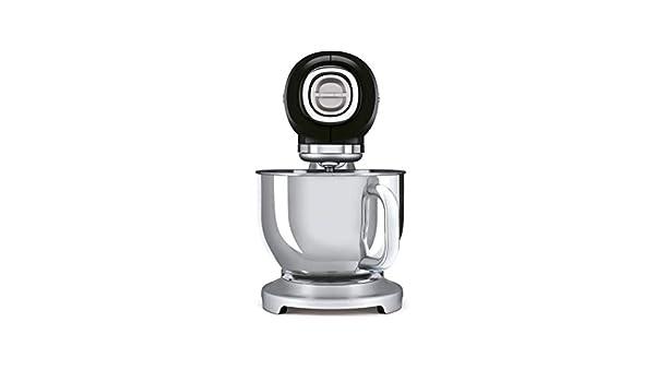 Smeg SMF02BLEU - Robot de cocina (4,8 L, acero 18/10), color negro: Amazon.es: Hogar