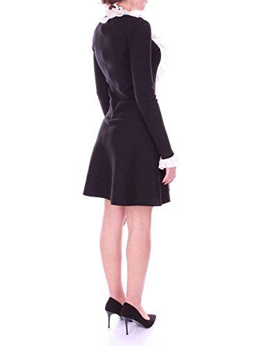 Schwarz Weiß und Kleid Kurzes Damen 22019 blugirl PzOq00