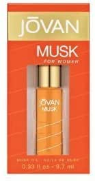 Jovan Musk By Jovan For Women. Perfume Oil 0.33 Oz Body Care / Beauty Care / Bodycare / BeautyCare