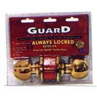 2 pack Guard Security Heavy Steel Chain  Brass Plated Chain Door Guard Provides