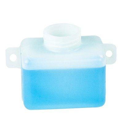 .25 Quart Natural High Density Polyethylene Tank w/Mounting Tabs 3.00'' L x 3.50'' W x 2.50'' H (1.625'' Neck)
