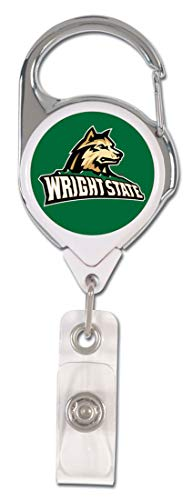 WinCraft Bundle 2 Items: Wright State University 1 Lanyard and 1 Premium Badge Reel Id Holder by WinCraft (Image #2)