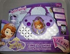 Disney Sofia The First  Time To Sing Along Boombox W  Microphone  Sf 115