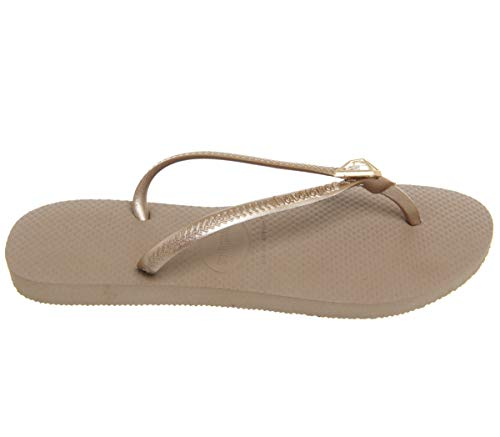 Havaianas Rubber Gold Size 2 Flop Women's 3 Epic Flip 2 Gold Slim Rose 3 rose 4wrB4