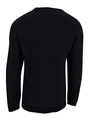 Calvin Klein Mens Knit Textured Pullover Sweater