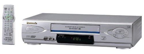 Panasonic PV-V4623S 4-Head Hi-Fi VCR, Silver
