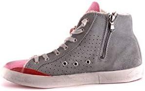 Luxury Fashion | Ishikawa Dames MCBI31156 Grijs Suôde Hi Top Sneakers | Seizoen Outlet