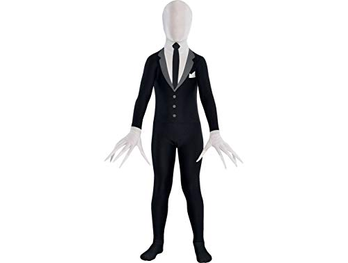 Amscan Slender Man Partysuit Halloween Costume for Teens,