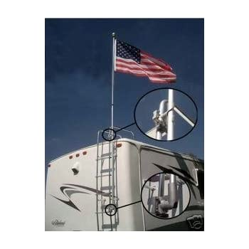 Amazon Com Flag Pole Buddy Complete Polycarbonite 12ft