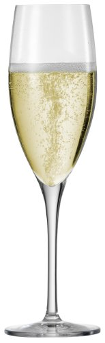 Eisch Superior Champagne Sensis Plus Lead-Free Crystal Champagne Glass, Set of 2, 9.8-Ounce