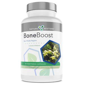 BoneBoost, Osteoporosis Supplement for Optimal Bone Health, Healthy Bone Density, 60 Capsules, Manufactured in USA, Non GMO, Gluten Free