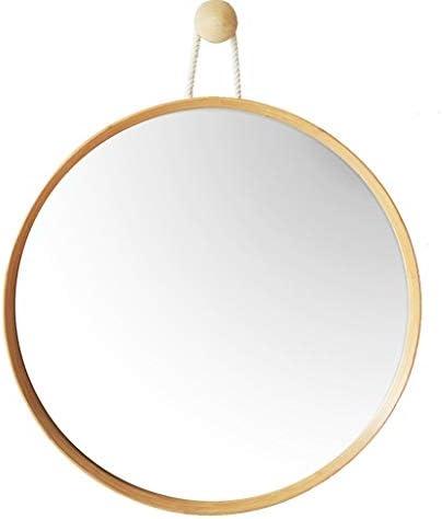 壁掛け鏡、洗面化粧台ミラー、ウォールラウンドミラーをマウント JZ02/26