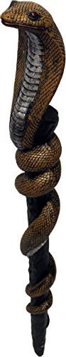[Medieval Snake Club Toy Prop] (Wizards Snake Staff)